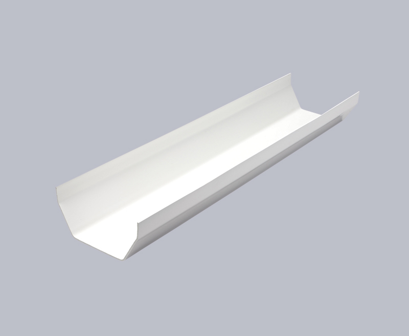 Kayflow white square gutter 5m